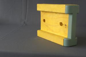 I beam construction materials